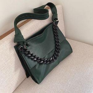 Shoulder Soft Vintage Women's Handbags Bags For Crossbody 2020 PU Chain Designer Women Totes Female Bags Messenger Leather 6517 Vehov