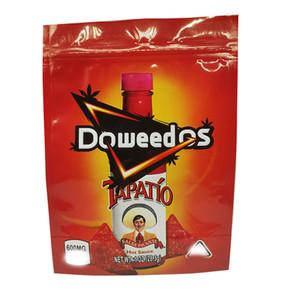 Più nuovo 5 Design Design Chips Evibles Sacchetti di plastica Stand Up Cheetos Nacho Doweedos Tapatio Piccante Sweet Chili Chili Ziplock Mylar Borse da imballaggio