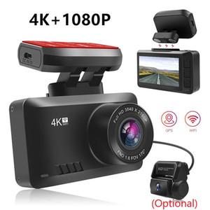 Dash Cam 4k HD Car Video Recorder Dash Camera Car DVR Mini Night Vision Video Registrator G-sensor Dash Cam 24H Parking Monitor