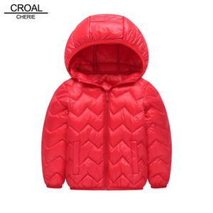 Croal CHERIE Mädchen Jacken Kinder Jungen Mantel-Kind-Winter-Oberbekleidung Mäntel beiläufige Baby-Kleidung Winter-Parkas
