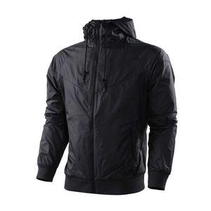 Ultrathin windrunner Men Women sportswear waterproof fabric Men sports jacket Fashion zipper hoodie plus size 3XL