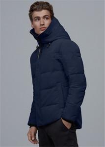 20FW Европейского жаккарда пуховик Полного Logo Печать Outwear Теплого вниз пальто мода High Street Пар женщины мужские куртки HFXHYRF032