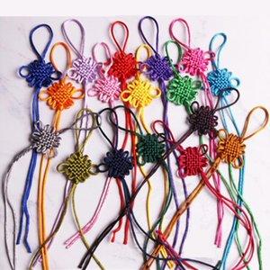 10 stück Mini Chinesische Knoten Quasten Anhänger Zubehör Home Textile Vorhang Kleidung Quaste Handwerk Seil DIY Dekoratives Material H Jllseh