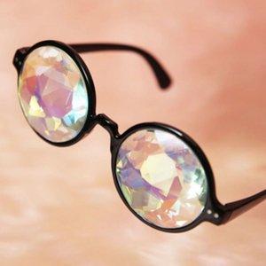 Kristall und Party Gläser Kaleidoskop Eyewears Rave Sonnenbrille Hot