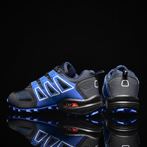 SeedStar Chaussures Randonnée Chaussures de sport en plein air Jogging légère montagne pour hommes Trekking Chaussures 201012
