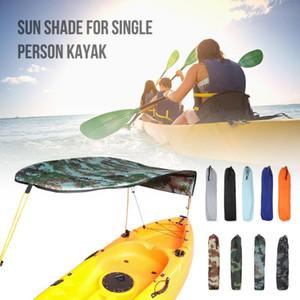 Kayak Barca Sun Shelter a vela Tenda Top Cover Kayak barca canoe Parasole Canopy di pesca della tenda Pioggia Baldacchino singola persona