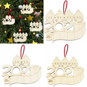 2020 Árvore de Natal Woodiness ornamento Household Series Christmases Pendant Hand Sanitizer Boca Máscara Modelo Detalhes no DIY 3 3jma J2
