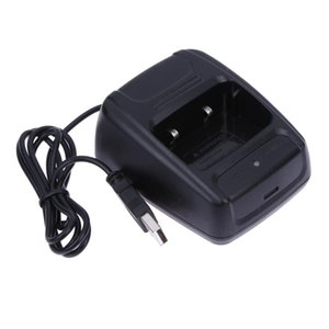 1 Pc Newest Walkie-Talkie Desktop Battery Charger Li-ion Radio Battery Charger 100-240v USB for Baofeng BF- 888S Retevis H777