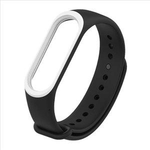 Soft Silicone Sport Watch Band Replacement Bracelet Strap For Xiaomi Mi Band 3 Wristband bracelet Wrist Strap Smartwatch