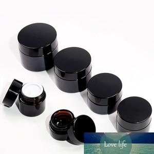 5 g / 10g / 20g / 30g / 50g Amber Brown Cam Kozmetik Kavanoz Yüz Kremi Şişeler Dudak Numune Cilt Bakımı Konteyner Pot Makyaj Depolama Vial