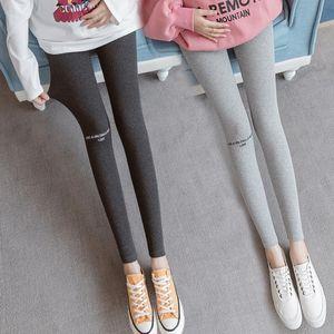 YUXIU Leggings Primavera e Outono 2020 Nova Moda Coreana Barriga de Moda Barriga Calças