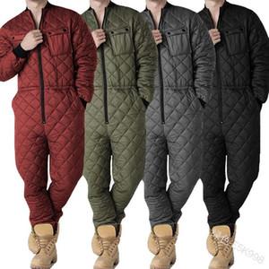 Mens One Piece Rompere Inverno Inverno Garment Abbigliamento Moda Nuova Zipper Playsuits Abbigliamento maschile Abbigliamento Autunno Pantaloni Sexy Tuta
