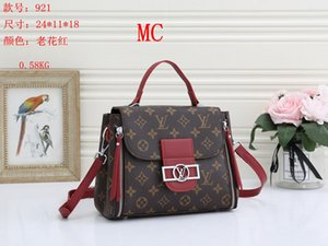 NEW styles Handbag MC Famous Name Fashion Leather Handbags CH Women Tote Shoulder Bags Lady Leather Handbags M Bags purse mc921