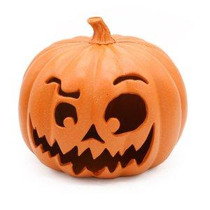 Halloween Pumpkin LED Light Lamp Creative Lantern Home Props Pumpkin Bar Horror Home Halloween Party Decoration Light