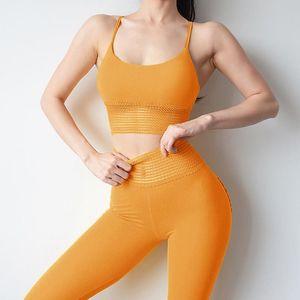 Jellpe 2 Piece Set Women Yoga Set Sport Wear Women Workout Clothes Gym Clothing Fithess Sport Suit Sports Bra Pants Yoga
