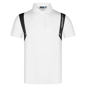 الربيع صيف جديد الرجال قصيرة الأكمام الجولف القمصان الترفيه الرياضة الملابس في الهواء الطلق الرياضة جولف قميص شحن مجاني
