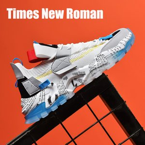 Times New Roman High Quality Spring Autumn Fashion Men Casual Shoes Breathable Height Increasing Adult Man Chunky Sneakers 201009