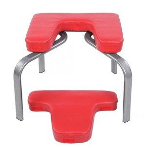 Ioga Cadeira Ultralight Inversão Ioga Cadeira de Ioga Headstand Inversão Bench Kit Fitness Kit Red 44x43x36.5cm 201124