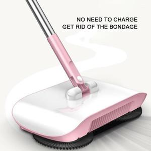 Mano Push Sweepers Sweeping Machine Tipo de empuje Piso Hogar Limpieza MOOM Broom Swoom Sweepers Dustpan Hogar Limpieza Herramientas 1