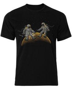 Астронавты Технические проблемы гравитации Луны звезды Interstellar Мужчины футболку AM41 спорта Толстовка с капюшоном Толстовка
