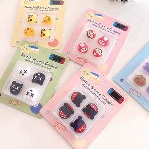 Красочный джойстик Cover Thumb Stick Cap Cap для Nintendo Switch NS Joy-Con Controller Cops Caps для коммутатора Lite GamePad ChanceStick