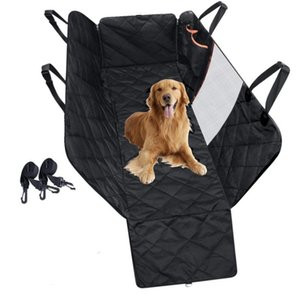 Pet Carriers Dog Car Seat Cover Trunk Mat Cover Protector Carrying For Cat Dog Hammock Cushion Protector With Zipper And Pockets