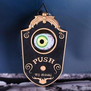 Animato campanello con Light-up Occhi suono talking Eyeball Campanello Ognissanti Prop Spettrale giocattolo per Pasqua decorazione di Halloween 200929
