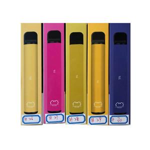 Barre vitrée Puff Tableau jetable DAB Tool Posh 550mAh Batterie 800+ Puffs 3.2ml Pod 7 couleurs Pas de maintenance de charge ou de remplissage