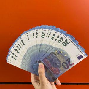 dinero falso barra de puntal tocho 20 euros juguetes juego de adultos de los niños de papel prop dinero del partido