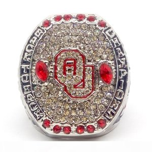 2016 Oklahoma Sooners Big 12 Championship Ring Fan Gift high quality wholesale Drop Shipping