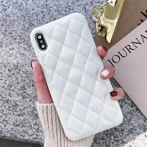 Per iPhone 12 12pro Case Telefono NUOVO Fashion Bright Pelle Designer Copertura del telefono per iPhone 11 11Pro XS XR XSMAX 7 / 8PLUS