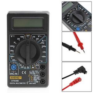 DT-830 Mini Multimeter LCD Digital Multimetro For Volt Amp Ohm Tester Meter Voltmeter Ammeter Overload Protection With Probe1