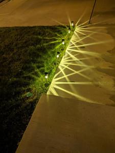 Vente en gros Livraison gratuite en acier inoxydable extérieur étanche imperméable IP65 LED Solar Jardin Lampes LED Solar Yard Lampe
