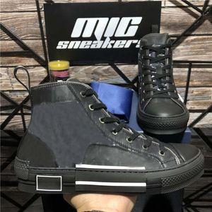 Top Quality 23 Oblique High Low Top Top Technology Sneakers Donne Fashion Paia Designer Scarpe da uomo Punta portata in pelle da uomo Scarpe casual da uomo