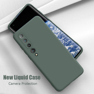 For Xiaomi 10 Pro Case Liquid Silicone Soft Matte Cover For Xiaomi Mi Note 10 Pro Mi 9 SE Phone Cases