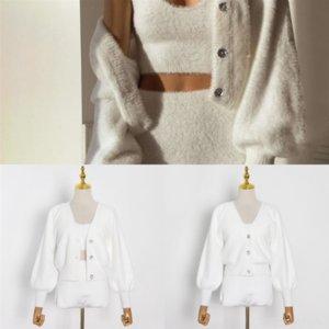 1susuh Donne Sexy Long Cardigan Solid Lantern Solid Sweater Maglione GRATUITA GRATUITA Femminile Bambino Cardigan Knitting Autumn Pattern Cappotto Giacca Outwear