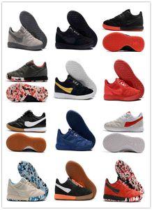 الرجال الكلاسيكية تيمبو الأسطورة رئيس الوزراء II سالا TF IC العشب أحذية كرة القدم في الأماكن المغلقة الأحذية المنخفضة المرابط في الكاحل ريترو أحذية كرة القدم رخيصة حجم 39-45
