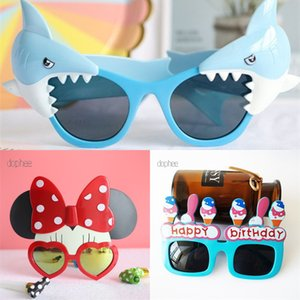 Sunglasses Party dophee Funny 1pc Happy Glasses Tropical Fancy Dress Favors Fun Birthday Photo Booth Props Supplie
