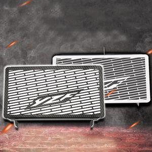 Griglia del radiatore del carbonio del motociclo della griglia del radiatore del carbonio in acciaio inossidabile per Yamaha YZF R3 2015-2018