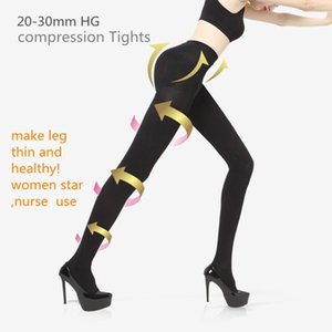 women Slim Stockings Therapeutic 20 mmHg rehabilitation 680D Shaper leg thin Compression TIGHTS Lycra compressure Pantyhose 201028