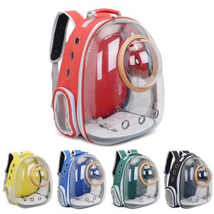 Pet Travel Travel Carry Car Trasparente Borsa Bike Astronaut Dog Space Gatto Zaino Trasparente Vettore Parente Bolla Fehkt SOOCX