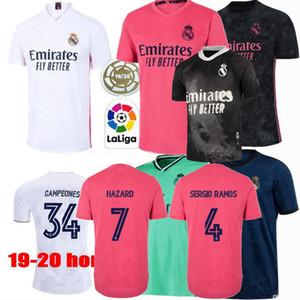 2019 2020 2021 Real Madrid de fútbol jerseys ASENSIO Casemiro MARCELO RAMOS JAMES MODRIC JOVIC PELIGRO BENZEMA camisa de los hombres de las mujeres de fútbol S-4XL
