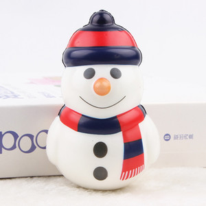 Christmas Decor Toys Pressure Ball Slow Rebound Squishy PU Simulation Doll Vent Adults Relieve Stress Balls Portable Hot Sale 4mc F2