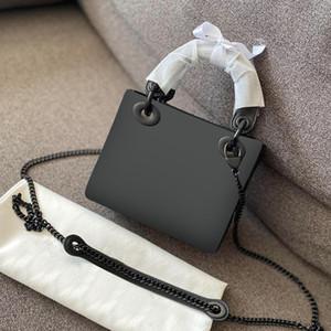 Top 3A diseñador de la marca de lujo de la correa cuadro de dama bolso de cuero tejido de pata de gallo CrossBodybag silla bolso bolso de la alta calidad 02
