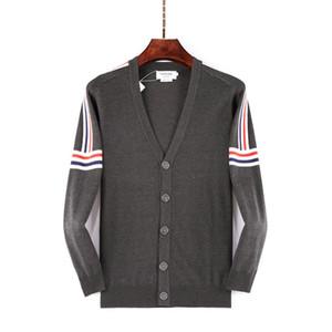 20ss Designer Pullover Luxus Art und Weise Knopf-Sweatshirt hohe Qualität Pull de luxe Strickjacke Pull femme männlich Pullover Jumper