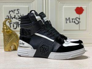 EU38-EU45 Luxus echtes Leder mit Kasten p63philipppleinMänner oder Frauen Geschenke Schuhe Turnschuhe Sandalen Herren Größe 38-45