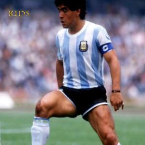 NCAA 1986 Argentina retro classic vintage DIEGO MARADONA jersey Soccer jersey Camisa de futebol jersey kids football Shirt THAILAND QUALITY