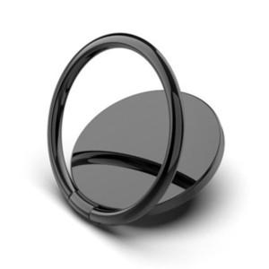 Mobile Cell Phone Grip Ring Holder Luxury metal Universal 360 Degree Rotation Finger Socket Holder Magnetic Car Bracket Stand