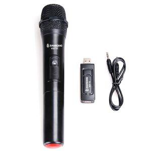 Zansong Uhf Wireless Professional Handheld Microphone o for Karaoke Mic for Church Performance o