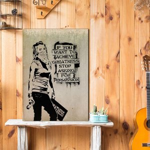 Wall Art Print Fashion Art Poster Banksy Quote Poster Canvas Prints Painting Nordic Decoration Living Room Home Décor